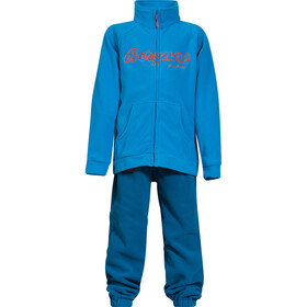 Bergans Smådøl Set Niños, light sea blue/deep sea/koi orange